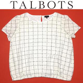 TALBOTS - TALBOTS チュニック タルボット 大きいサイズ カットソー レース 半袖