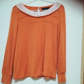 green label relaxing - オレンジの長袖カットソー