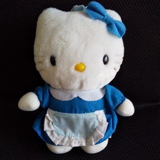 ハローキティ(ハローキティ)のキティ ぬいぐるみ メイド エプロン 1998 サンリオ レトロ(ぬいぐるみ)