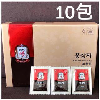 【正官庄】紅蔘茶 10包  6年根 高麗人参茶