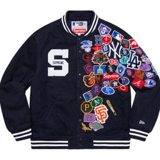 Supreme - Supreme/New Era MLB Varsity Jacket Lサイズ