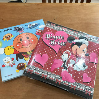 ディズニー(Disney)のフエルアルバム ミニー 台紙10枚追加 アンパン(アルバム)