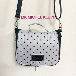 MK MICHEL KLEIN - MK MICHEL KLEIN ドットトラベルコスメポーチ 新品