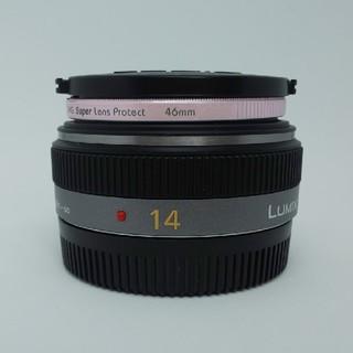 Panasonic - ‼️極上品‼️LUMIX14mm F2.5 パナソニック単焦点レンズ  シルバー