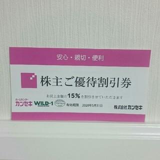 スノーピーク(Snow Peak)のjin1053様専用  カンセキ  ワイルドワン  15%割引券(ショッピング)