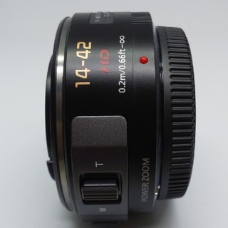 パナソニック(Panasonic)のほぼ新品‼️動画撮影に最適♪LUMIX VARIO PZ 14-42mm(レンズ(ズーム))