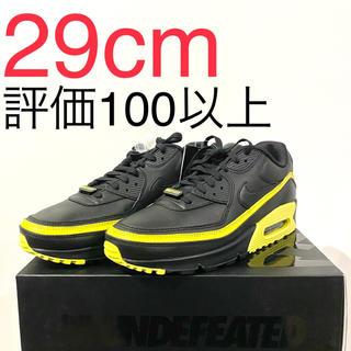 ナイキ(NIKE)のnike undefeated air max 90 black yellow(スニーカー)
