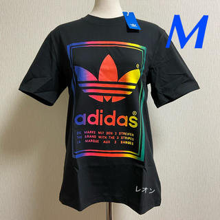 アディダス(adidas)の【メンズM】黒/マルチ VINTAGE Tシャツ アディダスオリジナルス(Tシャツ/カットソー(半袖/袖なし))