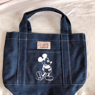 ディズニー(Disney)の【新品】ミッキー ⭐️ デニム バッグ(ハンドバッグ)