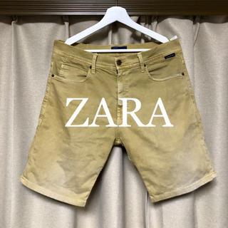 ザラ(ZARA)のZARA ウォッシュ加工!ストレッチショートパンツ!(ショートパンツ)