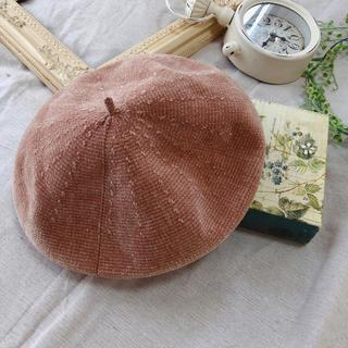 BEAMS コーデュロイベレー帽(ハンチング/ベレー帽)