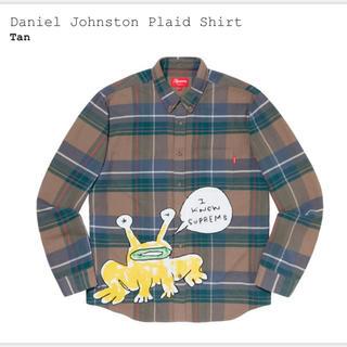 シュプリーム(Supreme)のsupreme daniel johnston plaid shirt XL(シャツ)