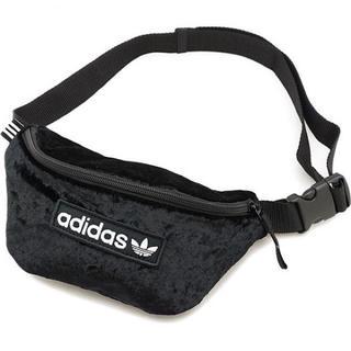 adidas - アディダス オリジナルス ウエストポーチ ブラック ボディバッグ
