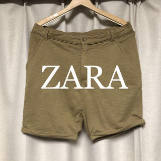 ザラ(ZARA)のZARA サルエルスウェットショートパンツ! (ショートパンツ)