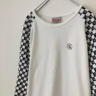エクストララージ(XLARGE)のXLARGE ラグランTシャツ ワンポイント 日本製(Tシャツ/カットソー(七分/長袖))