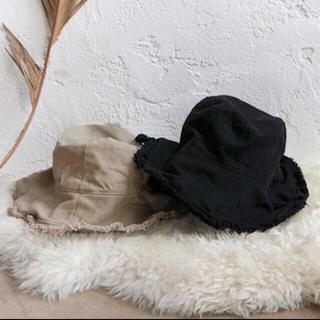ルームサンマルロクコンテンポラリー(room306 CONTEMPORARY)のfringe design bucket hat バケットハット (ハット)