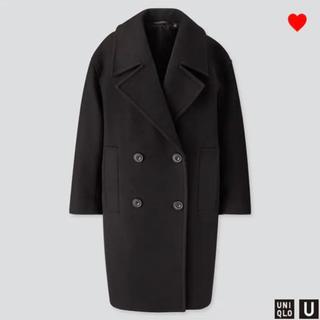 ユニクロ(UNIQLO)のユニクロ ウールブレンドロングPコート オーバーサイズ XXL(ロングコート)