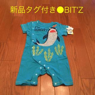 Bit'z - 新品タグ付き●BIT'Z 半袖立体ロンパース