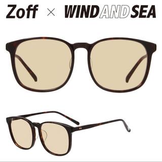Zoff - Zoff × WIND AND SEA サングラス ウェリントン ウィンダンシー