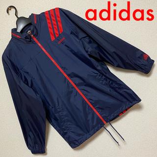 アディダス(adidas)の【adidas】マウンテンパーカー ナイロンジャケット✩.*(マウンテンパーカー)