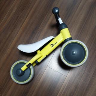 アイデス(ides)のディーバイク ミニ ライトイエロー D-bike mini(三輪車)