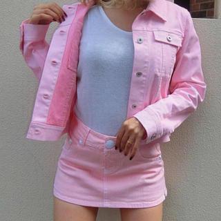 フィグアンドヴァイパー(FIG&VIPER)のジャケット スカート セット(ミニスカート)