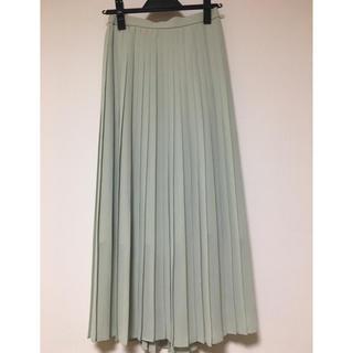 UNIQLO - 【UNIQLO】シフォンプリーツロングスカート