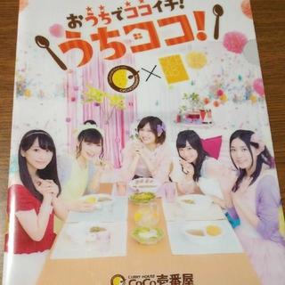 【現品限り!!】SKE48 CoCo壱番屋 クリアファイル