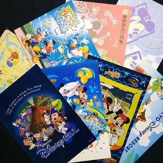 ディズニー(Disney)のディズニーポストカードセット(使用済み切手/官製はがき)