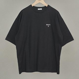 ビューティアンドユースユナイテッドアローズ(BEAUTY&YOUTH UNITED ARROWS)のWeb限定 Tシャツ 黒 L(Tシャツ/カットソー(半袖/袖なし))