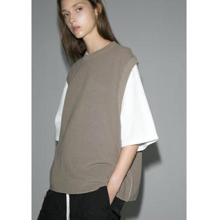 BEAUTY&YOUTH UNITED ARROWS - 試着のみ monkey time COTTON AZE CROPPED VEST