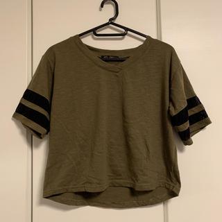ワンウェイ(one*way)のOne Way トップス Tシャツ カットソー Vネック(Tシャツ(半袖/袖なし))