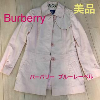 BURBERRY BLUE LABEL - バーバリー ブルーレーベル トレンチコート 美品 38