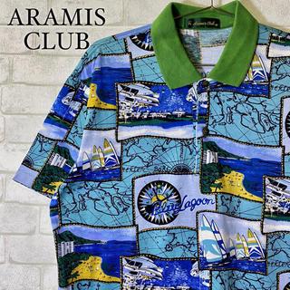 アラミス(Aramis)の【ARAMIS CLUB】アラミス ポロシャツ マリン ヨット ビーチ/Mサイズ(ポロシャツ)