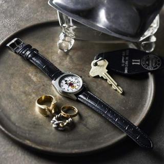 タカラジマシャ(宝島社)の✳︎ミッキー腕時計 オトナミューズ7月号付録✳︎(腕時計)