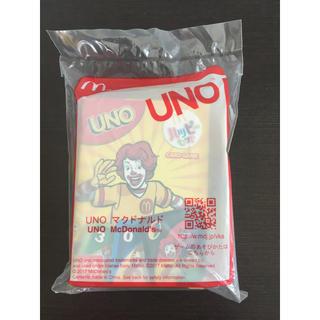 マクドナルド(マクドナルド)のマクドナルド ハッピーセット景品 UNO(トランプ/UNO)