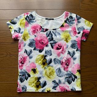 ワンウェイ(one*way)の花柄Tシャツ(Tシャツ(半袖/袖なし))