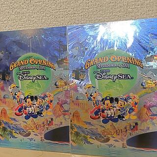 ディズニー(Disney)のDisney Sea ポストカード2枚セット【2001年グランドオープン時限定】(写真/ポストカード)