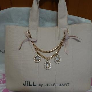 JILL by JILLSTUART - ジルバイジルスチュアート ジュエルリボントートバッグ ピンク
