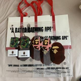 アベイシングエイプ(A BATHING APE)の【mei様専用】A BATHING APE ショッパー類8点セット(ショップ袋)