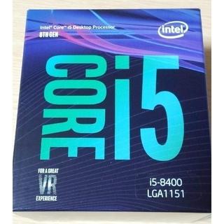 Intel Core i5 8400 新品、未使用、未開封(PCパーツ)