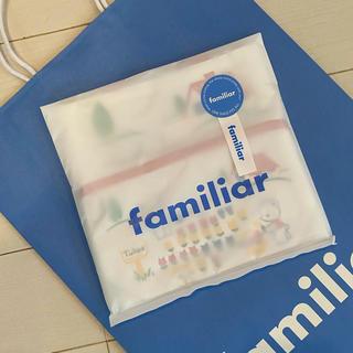 familiar - 【ファミリア♡70周年 ミニバッグとポーチセット】新品