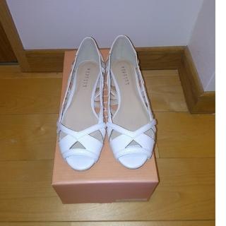 リリディア(Lilidia)の新品 靴 白・フラットシューズ(ハイヒール/パンプス)