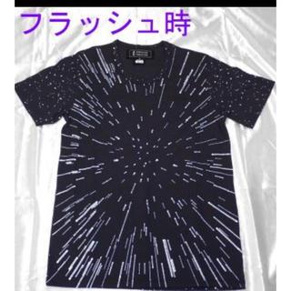 アンリアレイジ(ANREALAGE)のANREALAGESTAR WARS HYPER SPACE TEE(ブラック(Tシャツ/カットソー(半袖/袖なし))