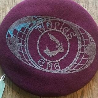 ヴィヴィアンウエストウッド(Vivienne Westwood)の新品・Worlds end限定・バッジ付き・Worlds end・ベレー帽(ハンチング/ベレー帽)