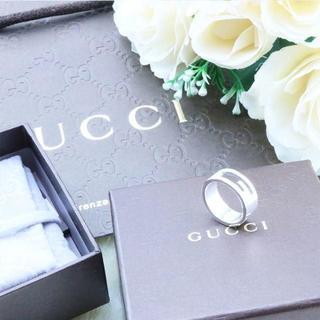 グッチ(Gucci)の☆新品☆未使用☆Gucci グッチ ブランテッドGリング13号(リング(指輪))