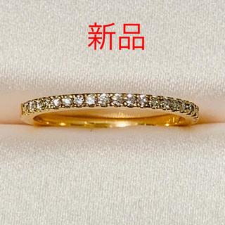 アーカー(AHKAH)のアーカー K18PG ティナ リング ダイヤモンド0.15ct 未使用(リング(指輪))