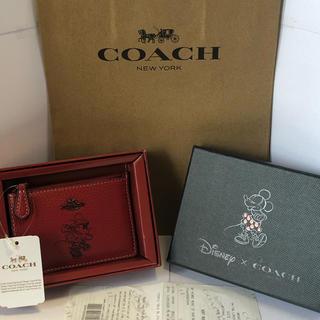COACH - 【新品】コーチ×ディズニーコラボ♡ミニー 小銭入れ