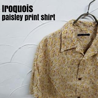 イロコイ(Iroquois)のIroquois/イロコイ 半袖 ペイズリー柄 シャツ(シャツ)