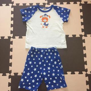 ホットビスケッツ(HOT BISCUITS)のミキハウス ホットビスケッツ ビーンズくん星柄パジャマ(Tシャツ/カットソー)
